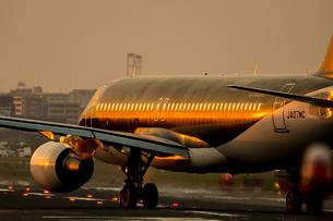 飛行機の写真素材 [FYI03401154]