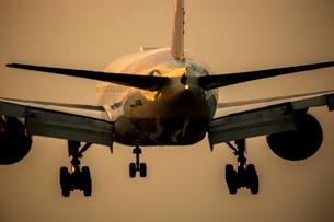 飛行機の写真素材 [FYI03401159]