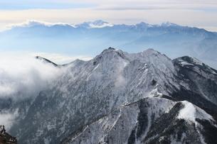 八ヶ岳とアルプスの写真素材 [FYI03401329]
