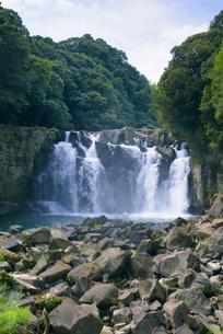 関之尾滝の写真素材 [FYI03401395]
