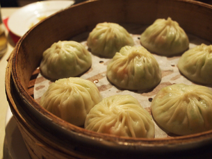 台湾で食べた小籠包の写真素材 [FYI03401530]