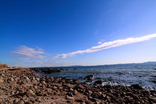 海岸と雲の写真素材 [FYI03401546]