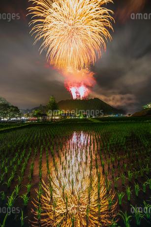 御田祭 日本 宮崎県 東臼杵郡の写真素材 [FYI03401616]
