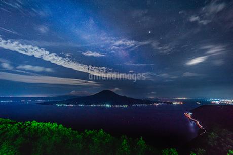 寺山公園展望台 日本 鹿児島県 鹿児島市の写真素材 [FYI03401625]
