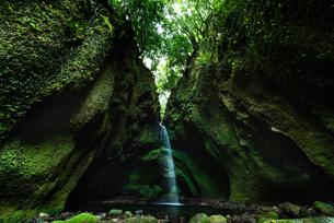 長野滝 日本 鹿児島県 薩摩川内市 入来町の写真素材 [FYI03401647]