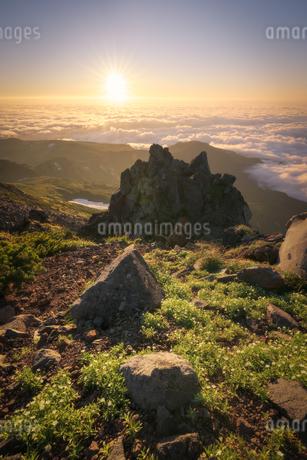 鳥海山からの眺め 日本 山形県 遊佐町の写真素材 [FYI03401671]