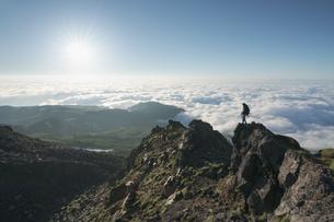 鳥海山からの眺め 日本 山形県 遊佐町の写真素材 [FYI03401676]