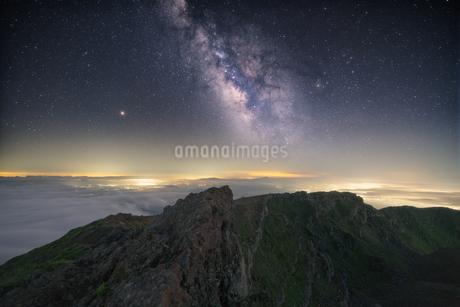 鳥海山からの眺め 日本 山形県 遊佐町の写真素材 [FYI03401677]