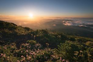 鳥海山からの眺め 日本 山形県 遊佐町の写真素材 [FYI03401681]