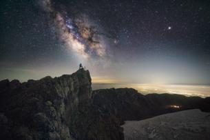 鳥海山からの眺め 日本 山形県 遊佐町の写真素材 [FYI03401695]