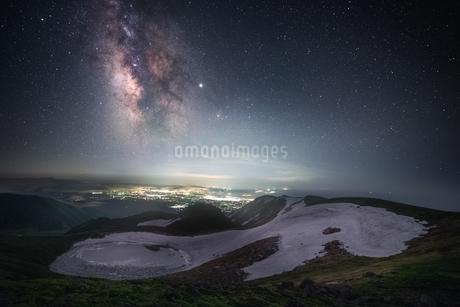 鳥海山 日本 山形県 遊佐町の写真素材 [FYI03401774]