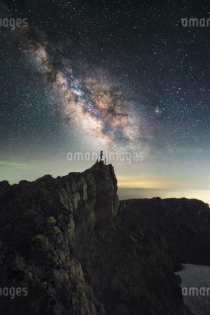 鳥海山からの眺め 日本 山形県 遊佐町の写真素材 [FYI03401785]