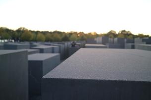 ベルリン、記念碑からの空の写真素材 [FYI03402260]