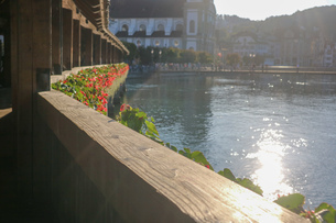 スイスの風景の写真素材 [FYI03402282]