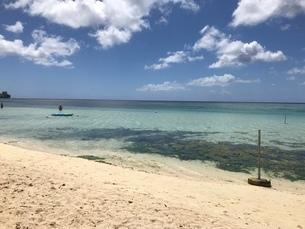 グアムの海岸線の写真素材 [FYI03402473]