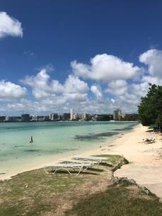 グアムの砂浜の写真素材 [FYI03402474]