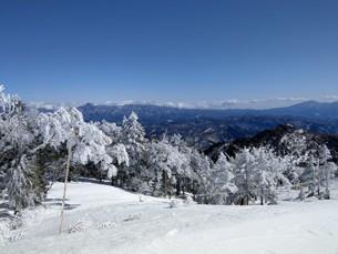 雪景色の写真素材 [FYI03402482]