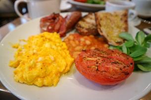イギリスの朝食の写真素材 [FYI03402492]