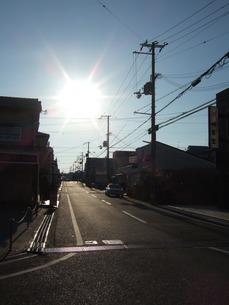 朝日の写真素材 [FYI03402508]