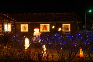 アイスランドのクリスマスの装飾の写真素材 [FYI03402596]