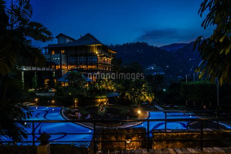ラグジュアリーホテルのイメージ(スリランカ・キャンディー)の写真素材 [FYI03402609]