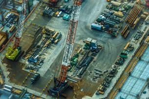 工事現場・建設現場のイメージの写真素材 [FYI03402613]