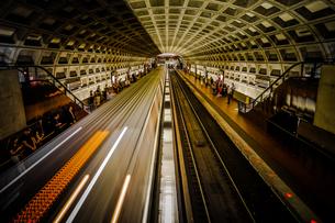ワシントンDCの地下鉄の写真素材 [FYI03402624]