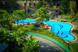 ラグジュアリーホテルのイメージ(スリランカ・キャンディー)の写真素材 [FYI03402661]