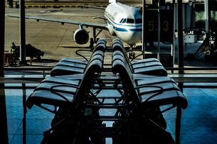 北京国際空港ターミナルのイメージの写真素材 [FYI03402708]