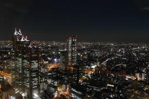 大都市の夜景の写真素材 [FYI03403053]