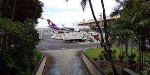 ハワイホノルル空港の写真素材 [FYI03403091]