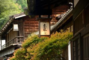 中山道妻籠宿の写真素材 [FYI03403279]