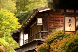 中山道妻籠宿の写真素材 [FYI03403280]