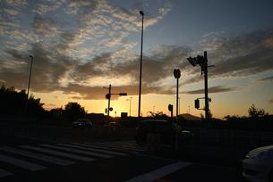 夕暮れの写真素材 [FYI03403335]