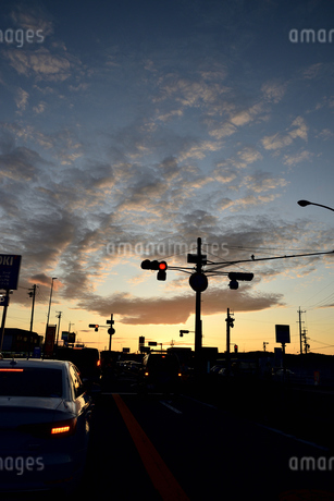 夕暮れの写真素材 [FYI03403337]