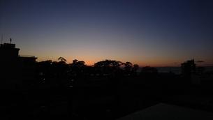 夕陽の写真素材 [FYI03403528]