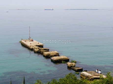 ターラントの埠頭の写真素材 [FYI03403857]
