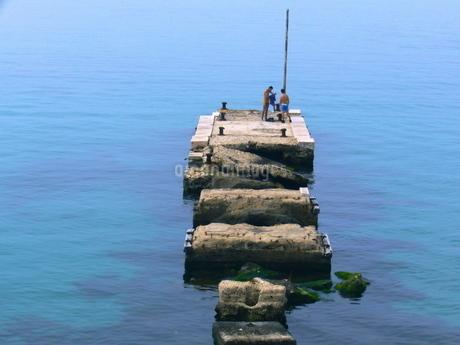 ターラントの埠頭の写真素材 [FYI03403859]