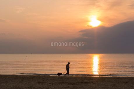 ヴィエステの海岸の写真素材 [FYI03403867]