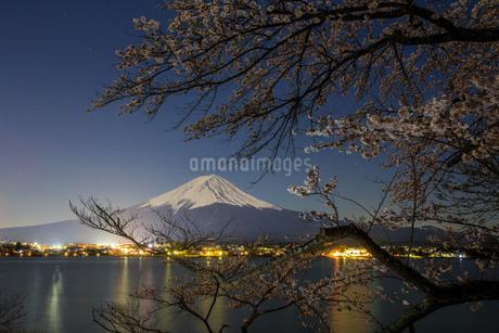 河口湖 日本 山梨県 富士河口湖町の写真素材 [FYI03404102]