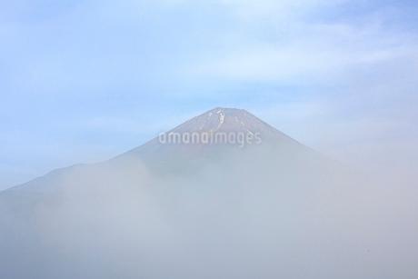 大室山から望む富士山 日本 山梨県 南都留郡の写真素材 [FYI03404153]