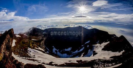 富士山頂 日本 静岡県 小山町の写真素材 [FYI03404164]