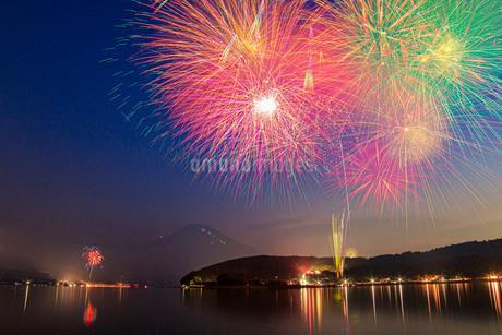 山中湖 日本 山梨県 山中湖村の写真素材 [FYI03404167]