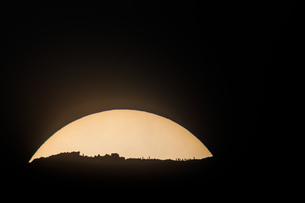 朝霧高原 日本 静岡県 富士宮市の写真素材 [FYI03404169]