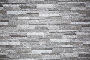 細い石のタイル壁の写真素材 [FYI03404180]