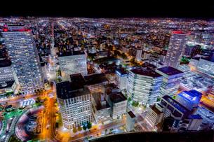 札幌の夜景の写真素材 [FYI03404394]