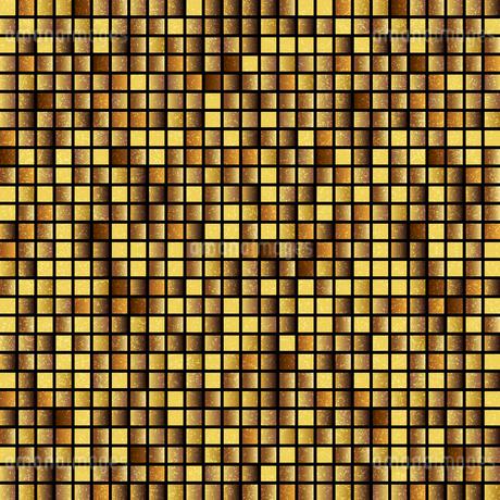 ゴールド モザイク 背景のイラスト素材 [FYI03404687]