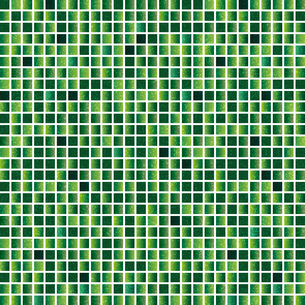 緑色 モザイク 背景のイラスト素材 [FYI03404692]
