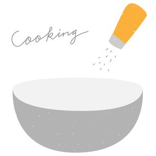 料理冊子に使えそうなイラストのイラスト素材 [FYI03404695]