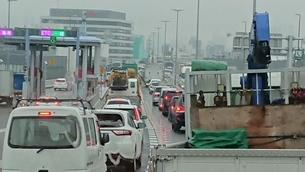 交通渋滞の写真素材 [FYI03405020]